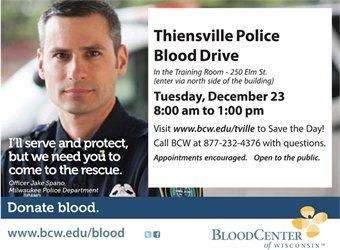 Police Blood Drive