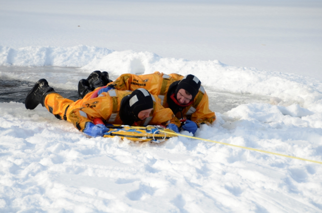 Mutual Aid Ice Rescue Training