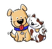 Dog Cat Clip Art