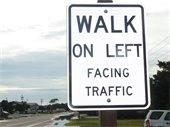 Walk on Left