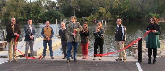 Boat Launch Ribbon-Cutting 10-6-20