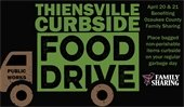 Thiensville Curbside Food Drive