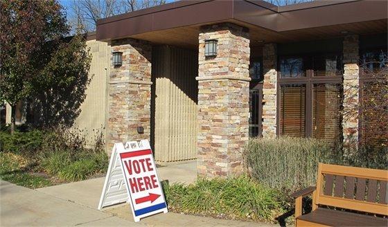 Voting Village Hall 11-3-2020