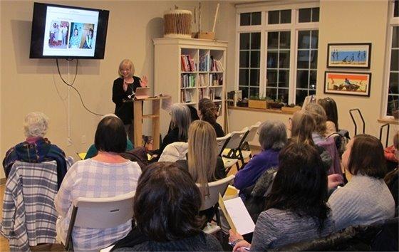 Karin Flodstrom speaks